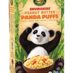 Nature's Path low-fodmap envirokidz peanut butter panda puffs