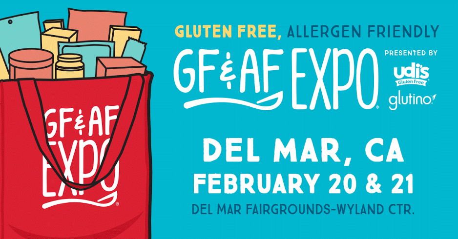 Come with Me to the Gluten Free and Allergen Friendly Expo in San Diego!