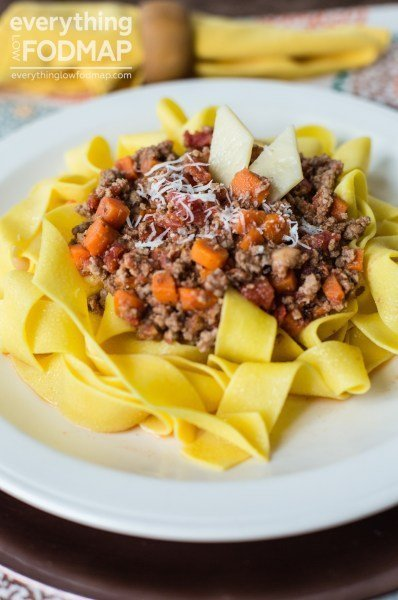Low-FODMAP Bolognese Sauce for Your Sweetie!