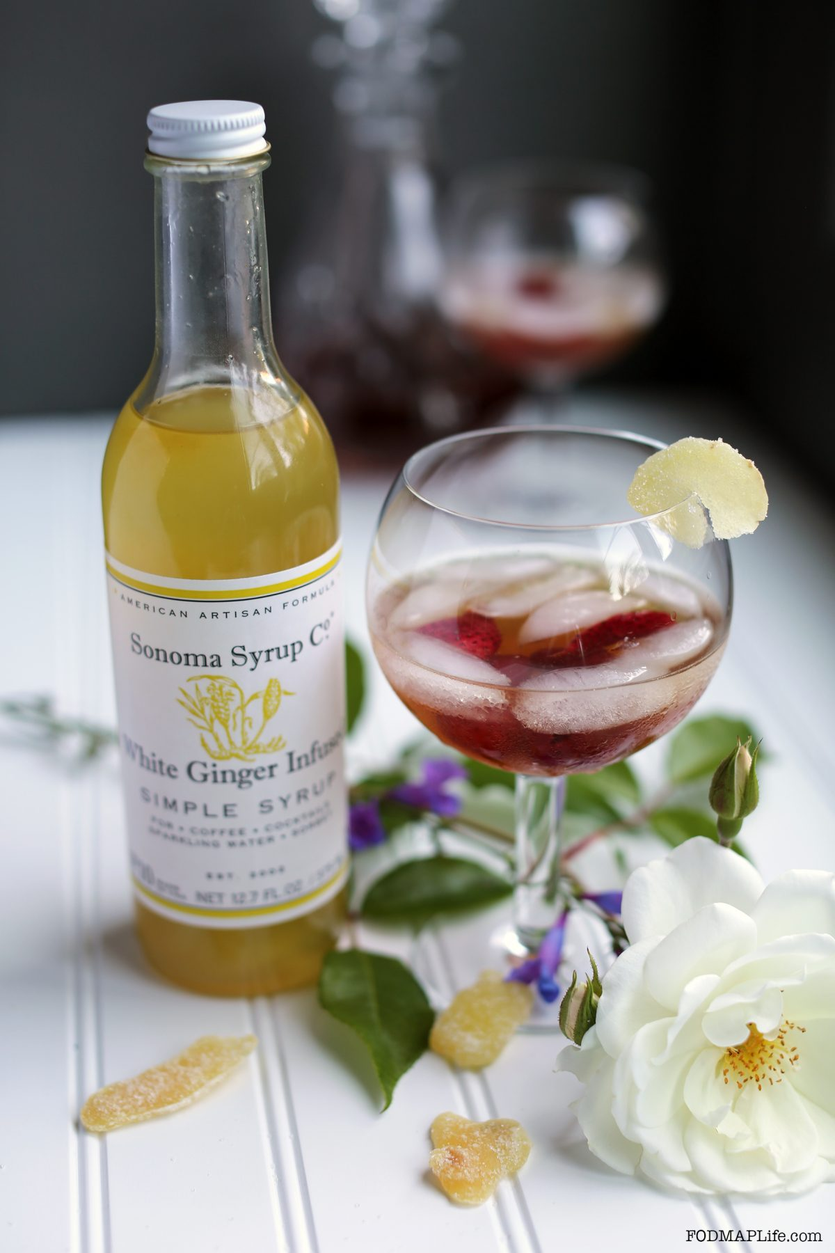 Make a Low-FODMAP Shrub with Sonoma Syrup Co.