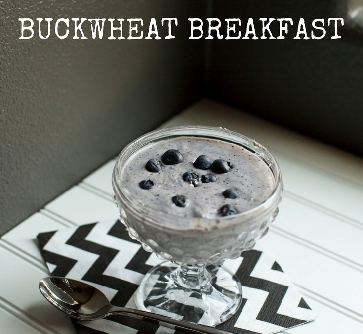 Peanut Butter and Jelly Buckwheat Breakfast – Low-FODMAP