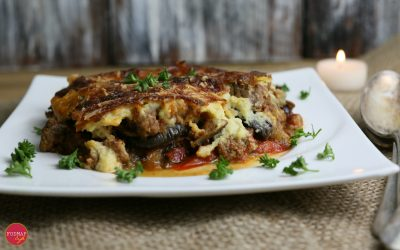 Low-FODMAP Moussaka Inspired by Bobby Flay