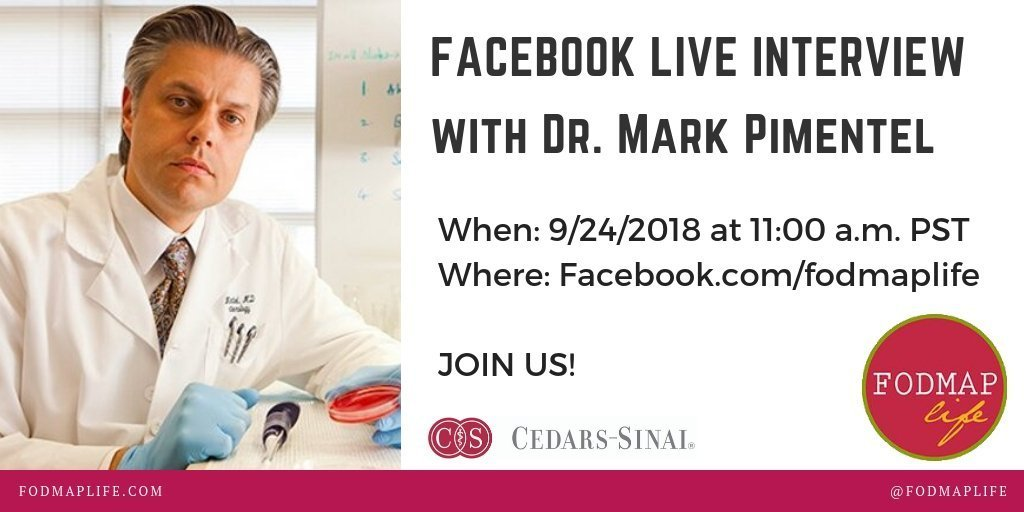 Facebook Live SIBO Chat with Dr. Pimentel